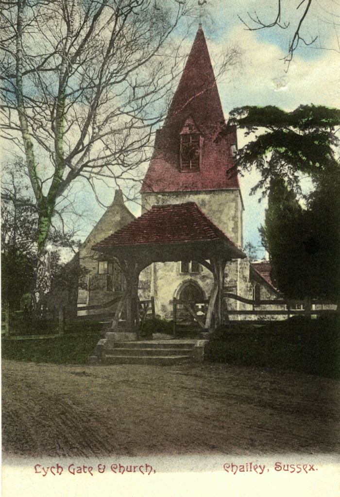 Lych Gate and Chailey Church Tower