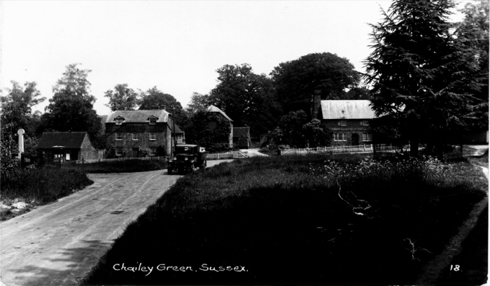 Chailey Green looking East, c. 1920