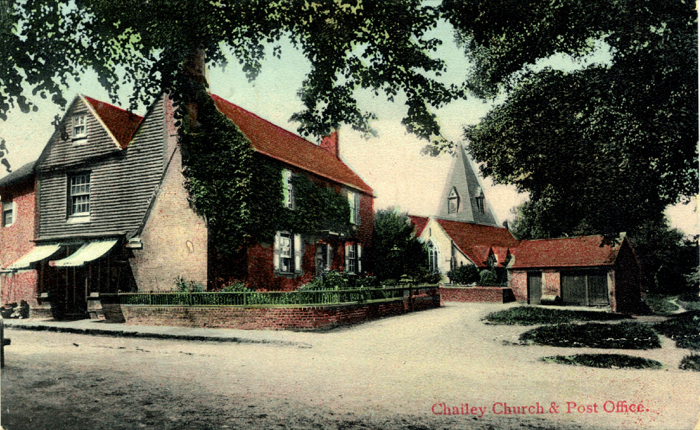 Chailey Green and Old Post Office, c. 190