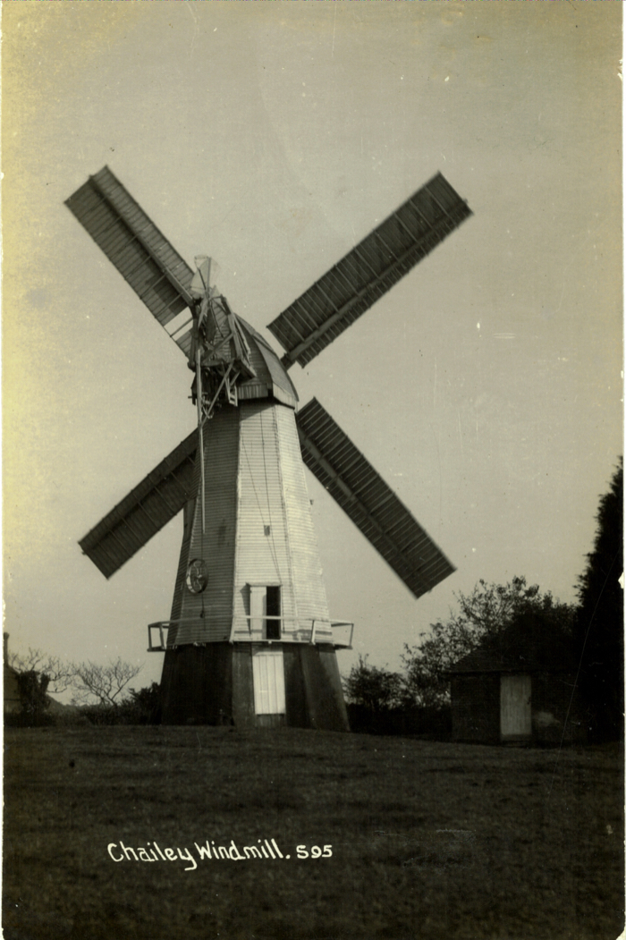 Chailey Windmill showing drive gear