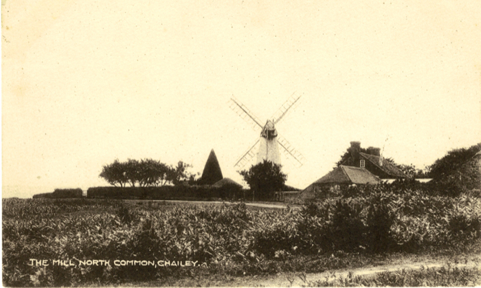 Chailey Mill and Yew Tree