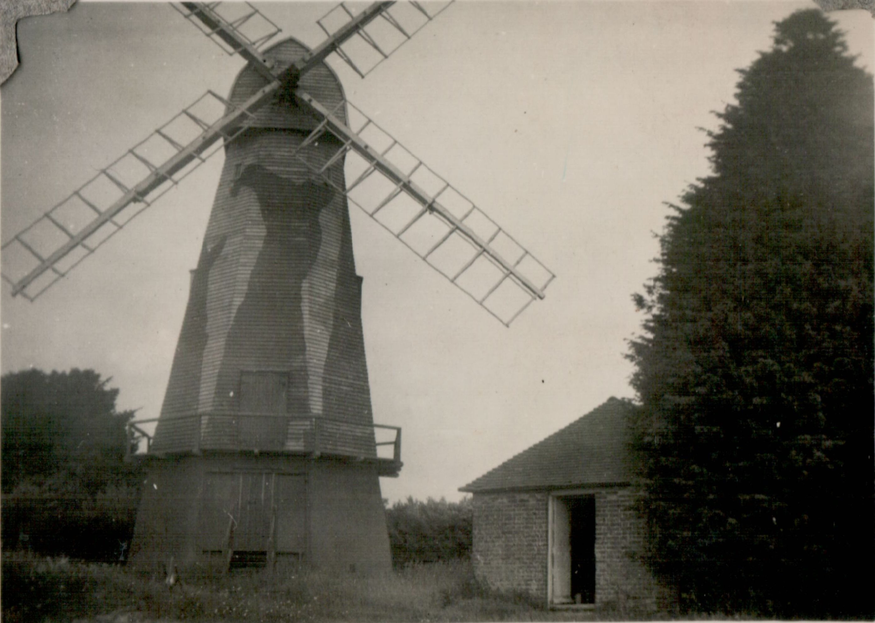 Chailey Mill Camouflaged , c. 1940